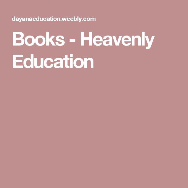Books - Heavenly Education