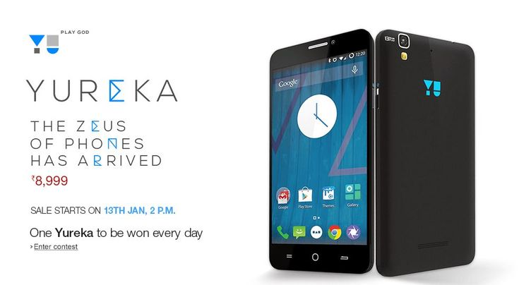Home bred smartphone maker, Yu Televentures, a subsidiary of Micromax is all geared up for the Yureka smartphone flash sale on 13 January.