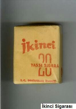 Ikinci cigarettes