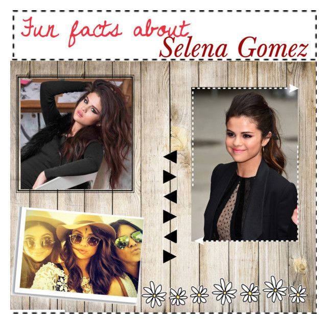 """Fun facts about Selena Gomez"" by coolgirl6702 ❤ liked on Polyvore featuring women's clothing, women, female, woman, misses and juniors"