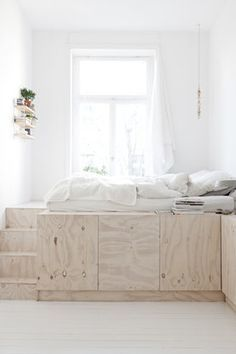 Bett selber bauen podest ikea  Die besten 25+ Bett selber bauen Ideen auf Pinterest | Bett bauen ...