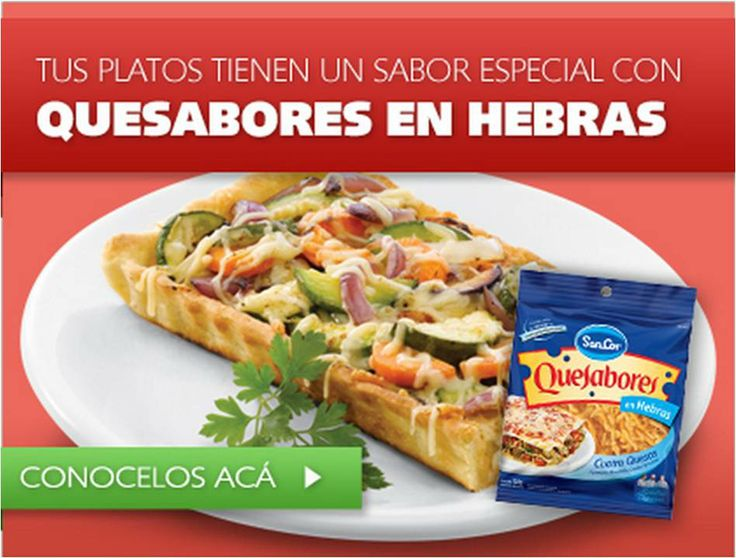 Quesabores en Hebras web