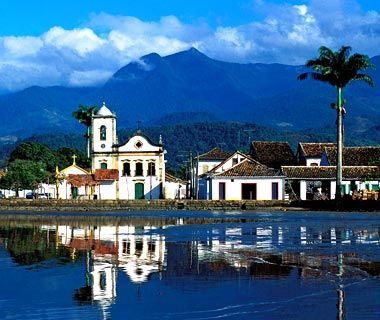It may not look a lot like Christmas, but Paraty, a half-day's drive from Rio, is a hidden gem of a town with astonishingly well-preserved Portuguese colonial architecture, a vibrant cultural scene, and easy access to rainforest and some of the world's most perfect beaches. Sounds like a holiday to us.