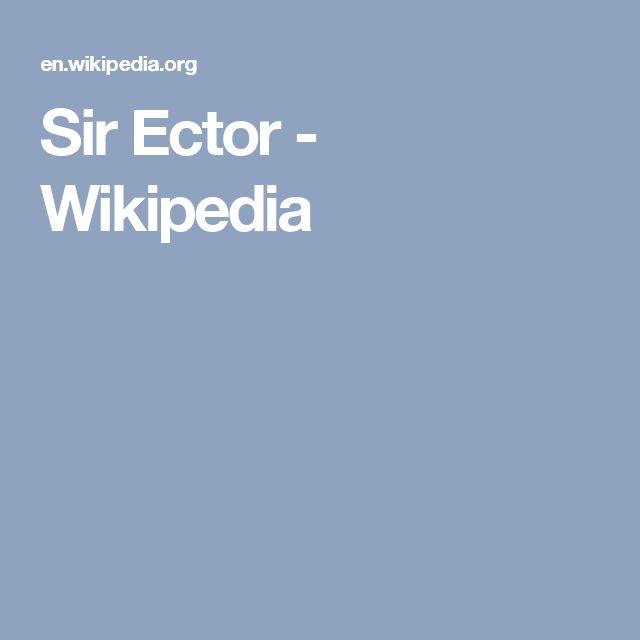 Sir Ector - Wikipedia