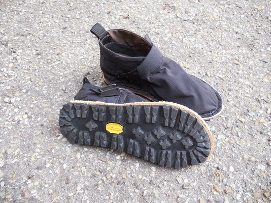 Homemade Outdoor Shoes. Awesome!