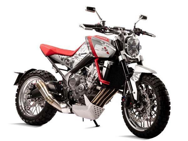 Honda CBSix50  http://theautosin.com/2015/11/23/city-adventure-concept-a-scooter-for-all-roads/cbsix502/  http://theautosin.com/2015/11/23/city-adventure-concept-a-scooter-for-all-roads/cbsix502/