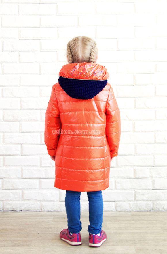 Утепленная детская куртка с длинным рукавом «Париж»