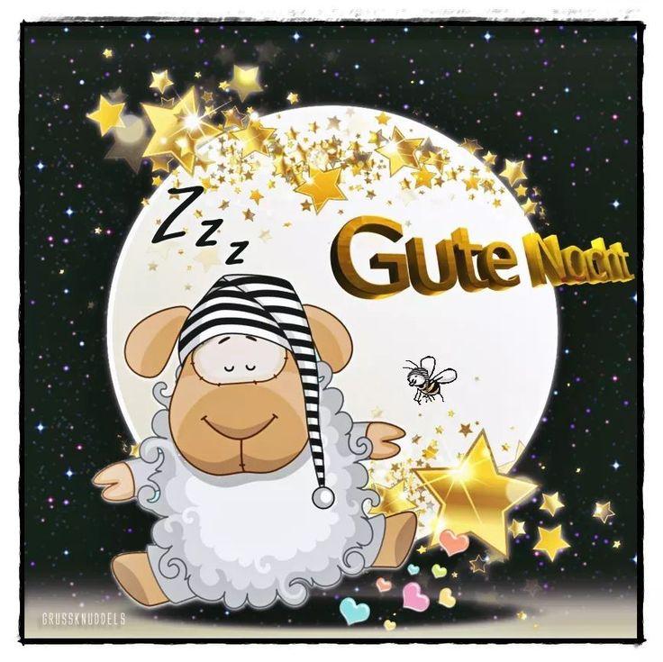 Süße Gute Nacht Nachricht