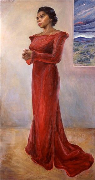 Laura Wheeler Waring - Marian Anderson | Art I Love | Pinterest