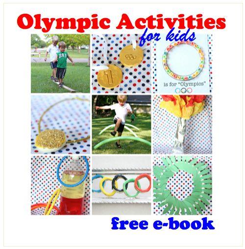 Olympic Activities Ebook