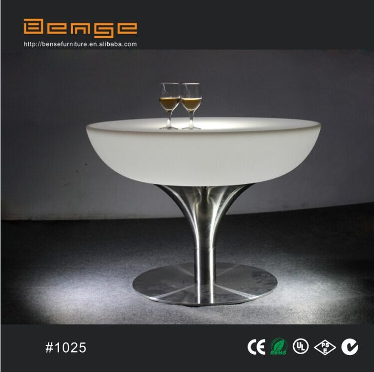 Low round party/coffee table. (sales@bensefurniture.com)