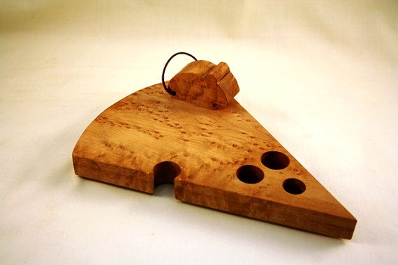 Cheese Board with MouseTimeless Timber by BunnyRabbitToys on Etsy, $29.00