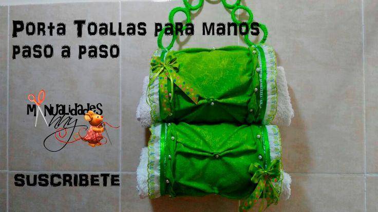 CLASE VIII - PORTA TOALLAS CON BOTELLAS PET Y PUNTO COPITO - I PARTE  | ...