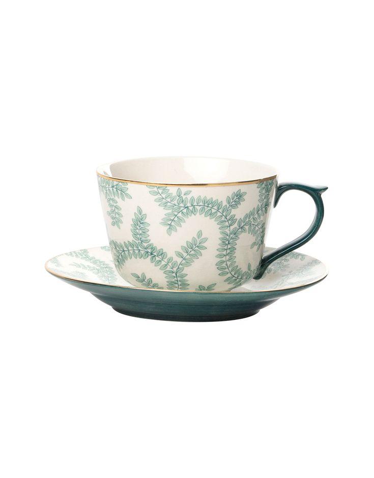 SPRING C&S kopp och fat | Mugs/cups | muggar och skålar | Glas & Porslin | Inredning | Indiska.com