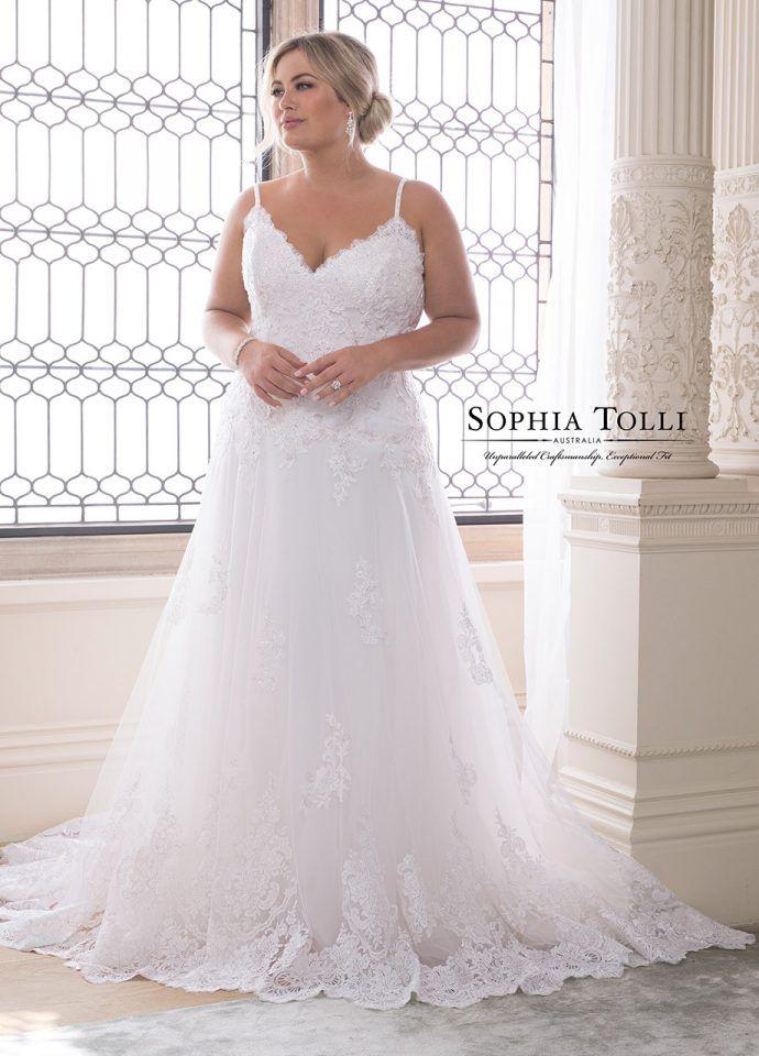 d93d7f30c0032 Sophia Tolli Wedding Dresses 2019 for Mon Cheri - Bridal Gowns in 2019 | Wedding  dresses | Wedding dresses, Plus size bridal dresses, Bridal dresses
