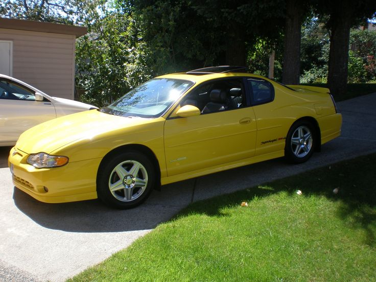 monte carlo pictures car | Corvette Yellow 2004 Chevy Monte Carlo SS Supercharged 240 HP 3.8 ...