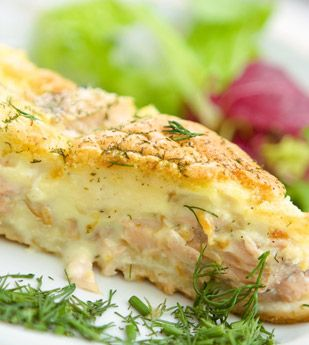 Creamy Salmon Pie Recipes - I Love Cooking, How to cook South African recipes