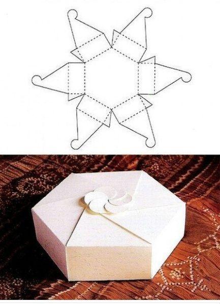 M s de 25 ideas incre bles sobre cajas de regalo en - Como hacer cajas de cartulina ...