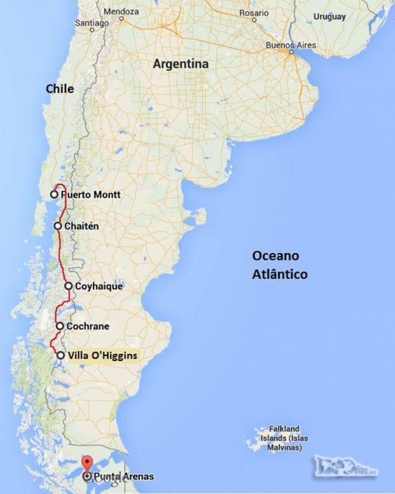 M s de 25 ideas incre bles sobre mapa rutero en pinterest for Jardin villa austral punta arenas