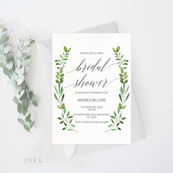 This listing includes a high resolution wedding bridal shower invitation template PDF for you to edit and print at home or at your local print shop. Download the high resolution templates instantly after your payment is completed! You can edit and print as many copy as you need. W H A T Y O U G E T : — 5x7 high resolution Bridal Shower PDF Template (2 per 8.5x11 page) — Instructions Guide  I N S T R U C T I O N S : 1. Open the PDF file in Adobe Reader. Free download is available at www.get.ad...