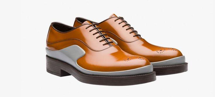 Scarpe Prada Uomo 2016: quanto costano i Modelli della nuova Collezione scarpe Prada uomo 2016 stringate