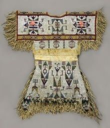 Lakota beaded child's dress
