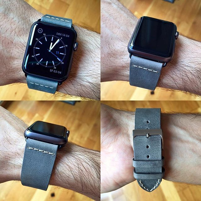 #colareb #madeinitaly #applewatchstrap #applewatchsport #apple #wristband #roma #black #green #bracelet #montre #leather #vintage #applewatch by almograve