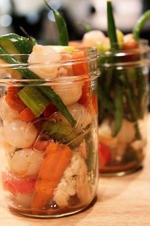 Marinated Vegetables | SouthernBite.com