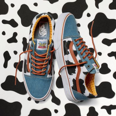 The Vans x Disney • Pixar Toy Story Collection. Available now!