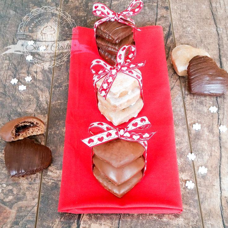 Miękkie, nadziewane pierniczki w czekoladzie | Świat Ciasta