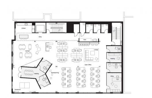 Boora Architects, office Plan