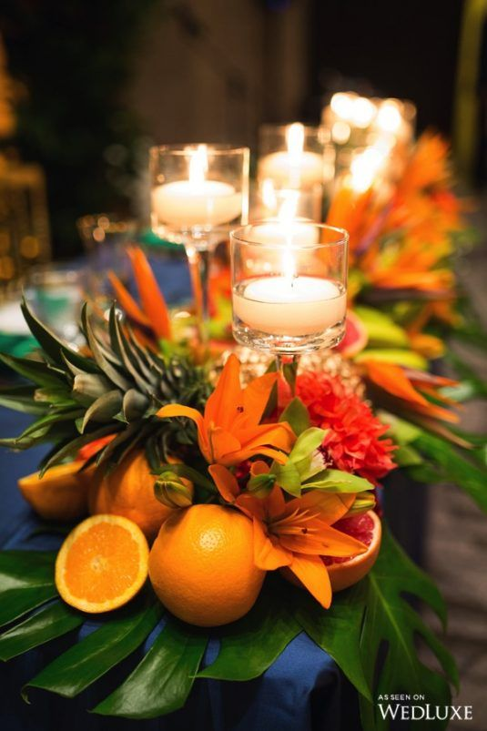 The Magic Of Madeira With Images Bird Of Paradise Wedding Flower Centerpieces Wedding Tropical Centerpieces