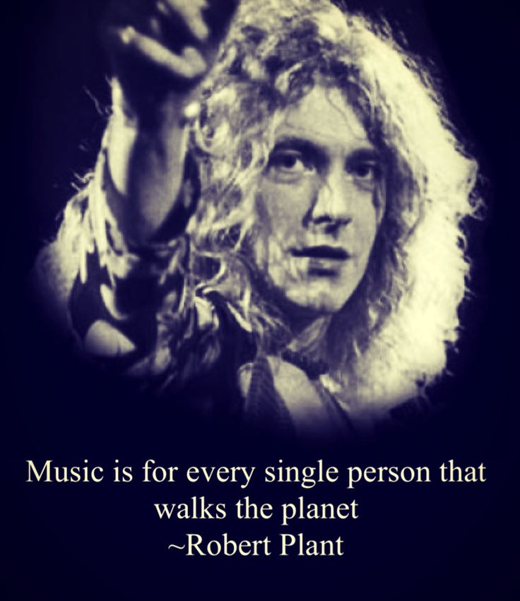 http://custard-pie.com/ Robert Plant quote (Made by me)