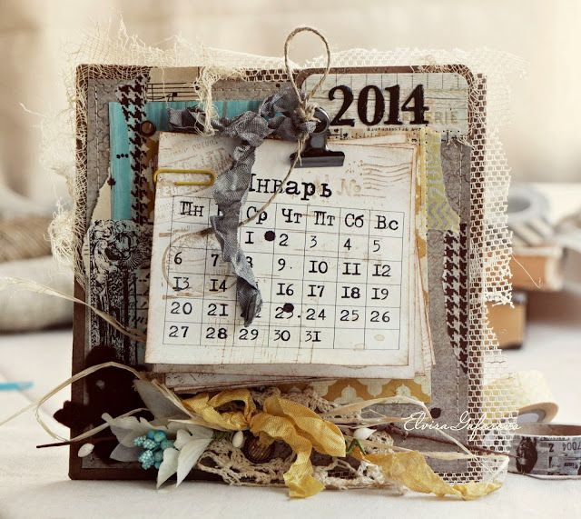 моё вдохновение: Календарь на новый год...
