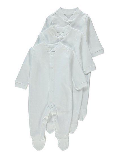 Asda £5, 3 pack sleepsuits.