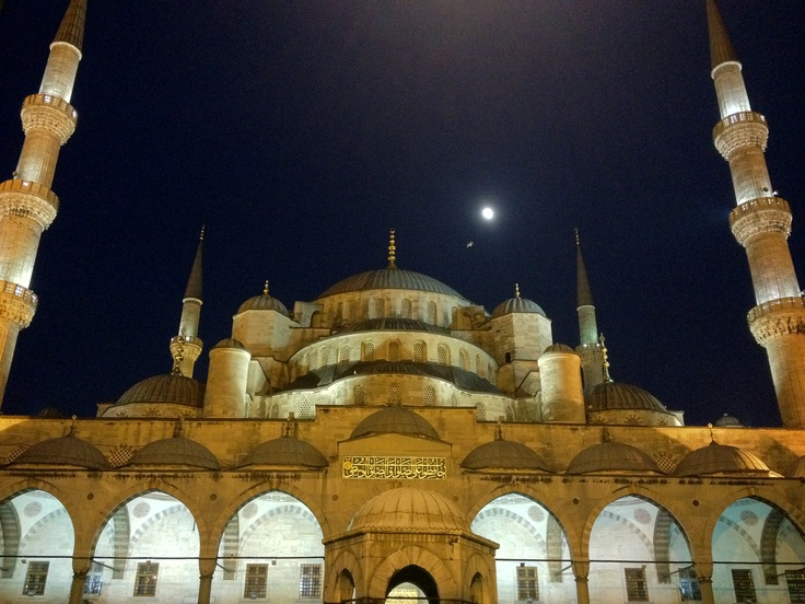 Istanbul, Blue Mosk. Amazing city, with some beautiful places.     iPhone 4s has a great camera.
