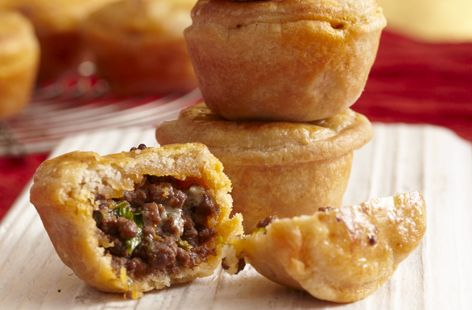 I would swap the Stilton for other cheese and use extra lean beef mince.  These would be lovely with crunchy salad when you had friends round for lunch!