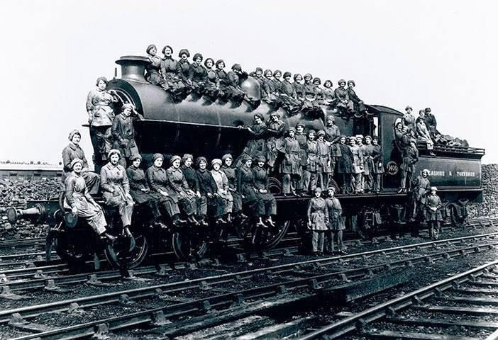 63 best Women in Railroading, WWI and WWII images on