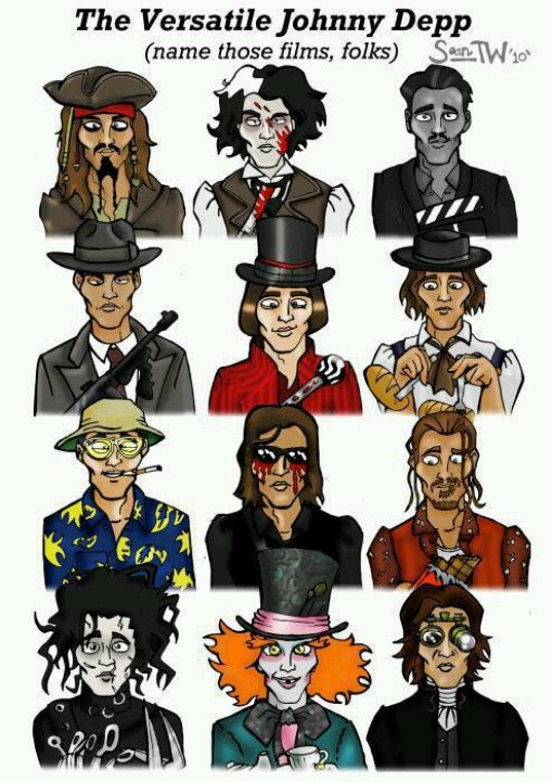 Cartoon Characters Named Johnny : Image gallery johnny depp character names