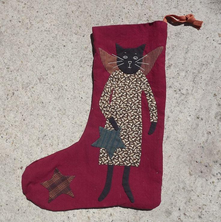Stocking / Pattern by Jan Patek/Sue Spargo from Miyuki