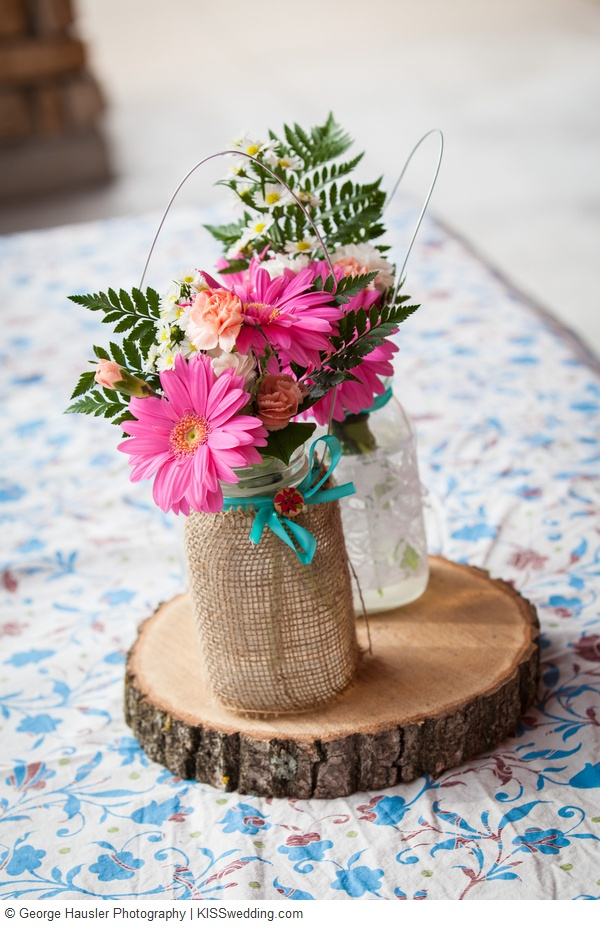 Images about simple wedding centerpieces on