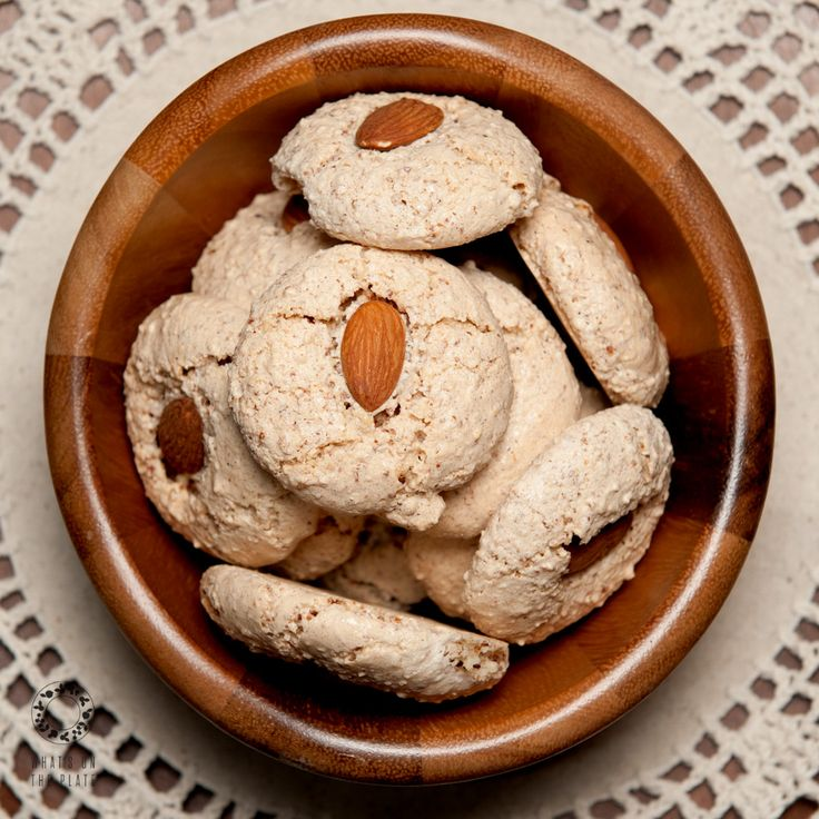 Almond cookies | What's on the Plate