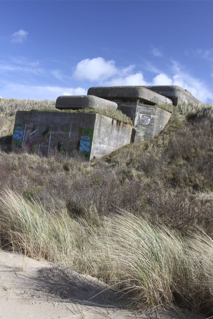 d day normandy bunkers