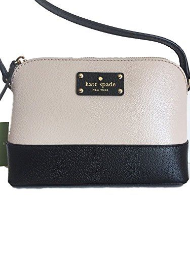 Kate Spade Hanna Wellesley Crossbody - Pebble/Black ,,^..^,, Info @ http://www.amazon.com/gp/product/B01CGW5ACC/?tag=handbagscto-20&YZ=190816020957