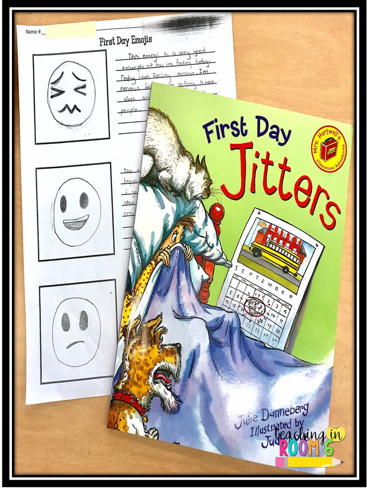 First Day Jitters and fifth grade...how to beef up this picture book