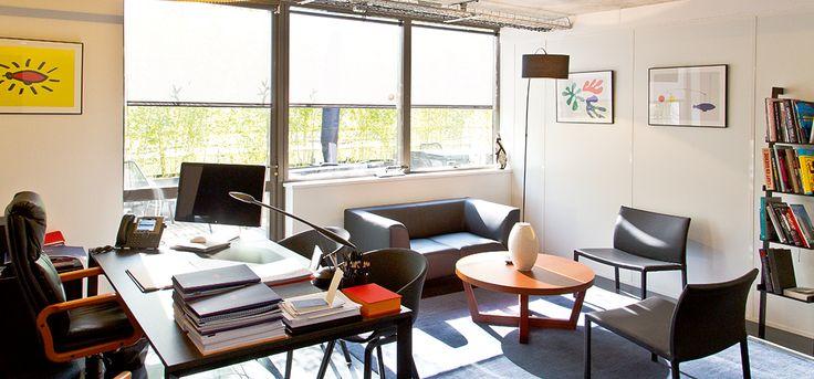 CBA France's offices in Levallois-Perret, near Paris   #agency #design #desk #inspiration #creativity #brand