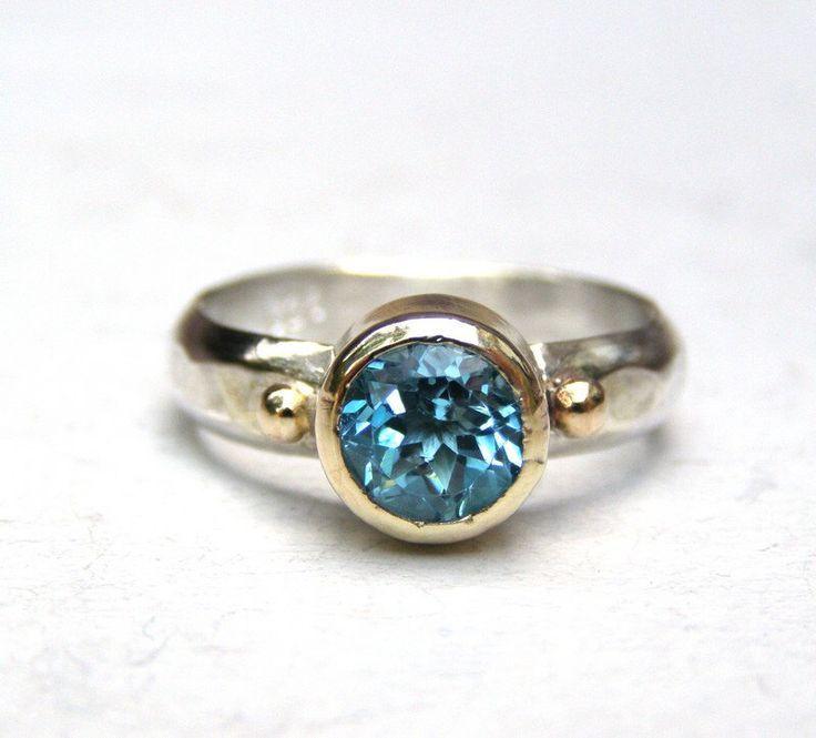 Handmade Engagement Ring,14k gold ring, silver ring, bridal ring, lab diamond