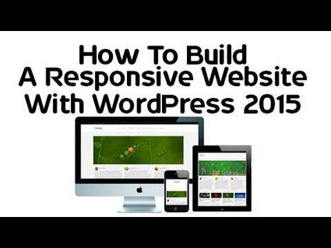 How To Build A #ResponsiveWebsite With #WordPress 2015?http://bit.ly/1HA4C4u #WebDevelopment