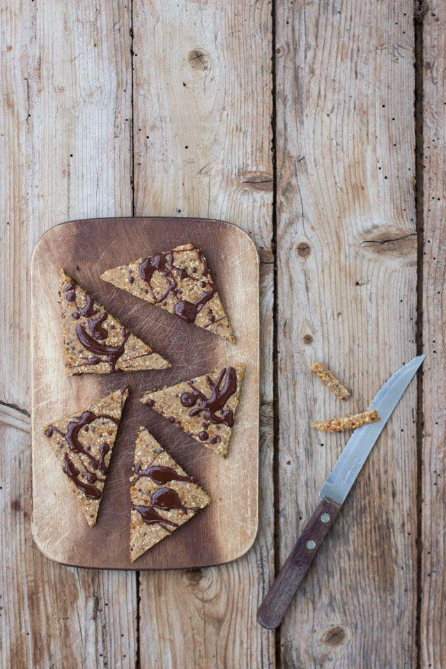 Süßes Knabbergebäck schnell gemacht, so gesund wie es nur geht und richtig, richtig lecker!