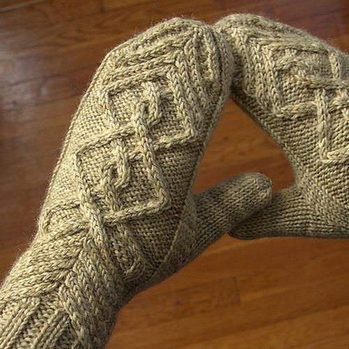 We Like Knitting Free Patterns : We like knitting chevalier mittens free pattern